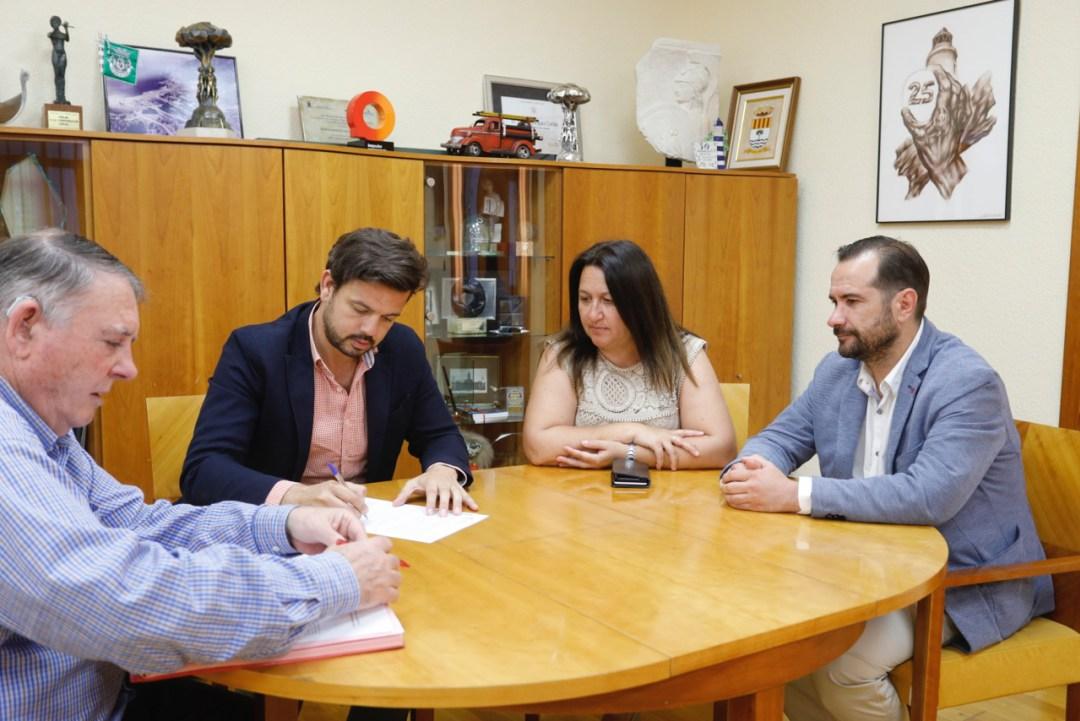 Convenio Jovempa Marina Baixa y Ayuntamiento de Alfaz del Pi