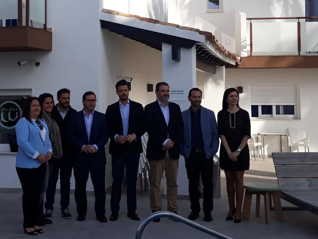 Desayuno Jovempa Marina Baixa, Senador Agustín Almodóbar, ley de autónomos